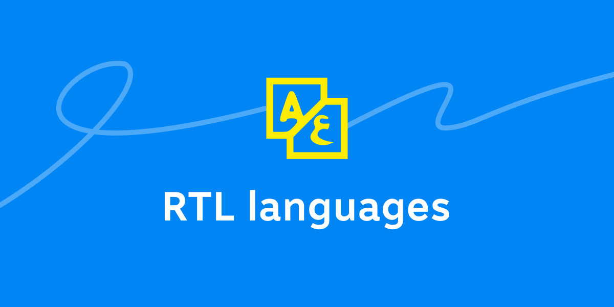 RTL languages support