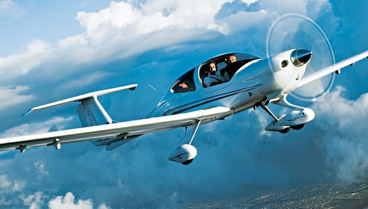 Обзорные полеты по Беларуси на самолете Diamond