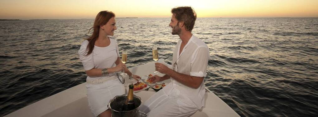 Романтическая ночь на яхте Fortuna