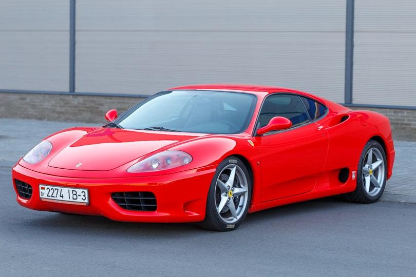 Тест-драйв на Ferrari