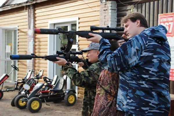 Лазертаг: войнушка без пострадавших