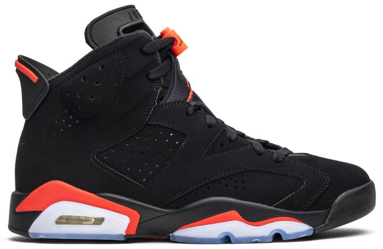 Jordan 6 Retro Black Infrared (2019)