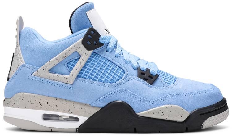 Air Jordan 4 Retro University Blue (GS)