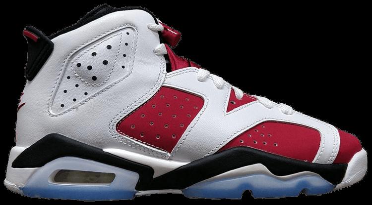 Air Jordan 6 Retro OG Carmine 2021 (GS)
