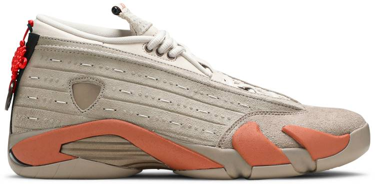 CLOT x Air Jordan 14 Retro Low Terracotta