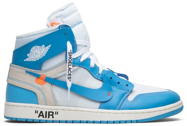 Jordan 1 Retro OFF-WHITE University Blue