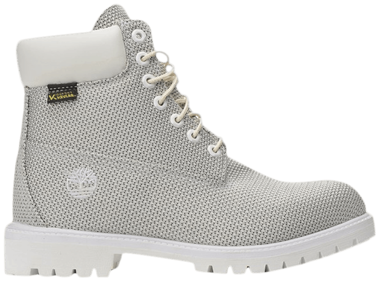 Kevlar Dupont x 6 Inch Fabric Boot White