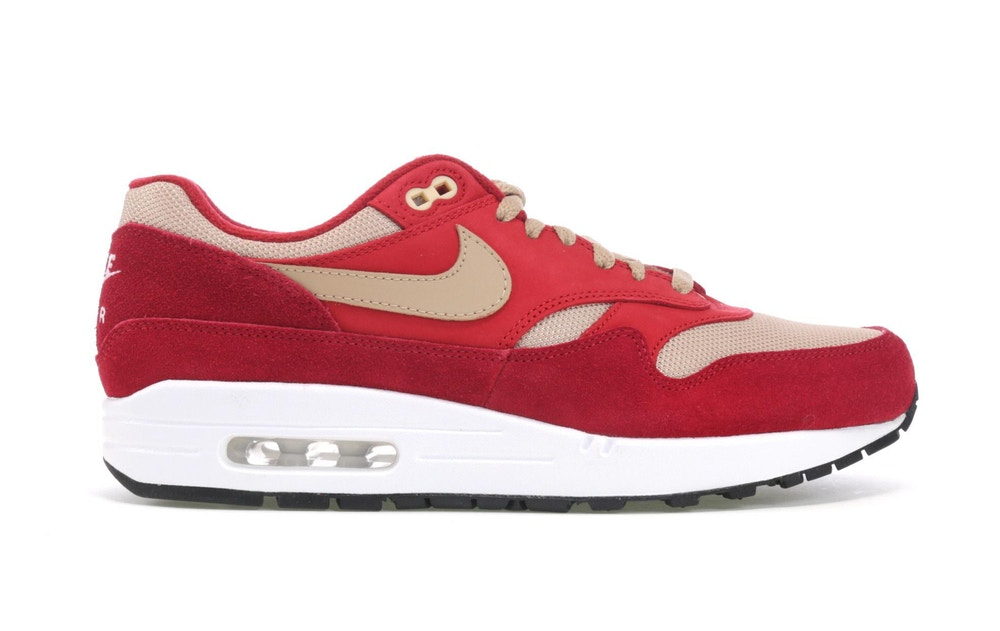 Nike Air Max 1 Premium Retro Red Curry