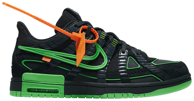 OFF-WHITE x Air Rubber Dunk Green Strike