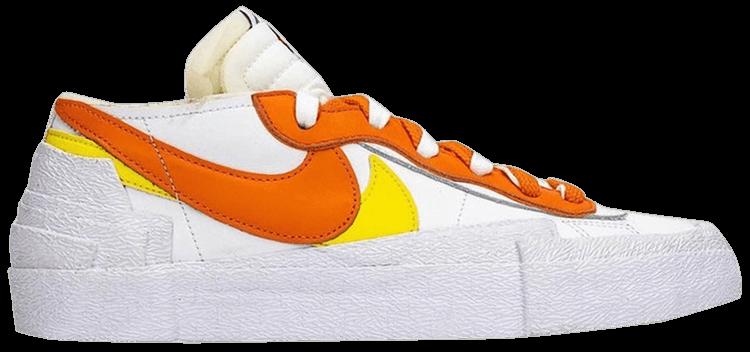 sacai x Blazer Low Magma Orange