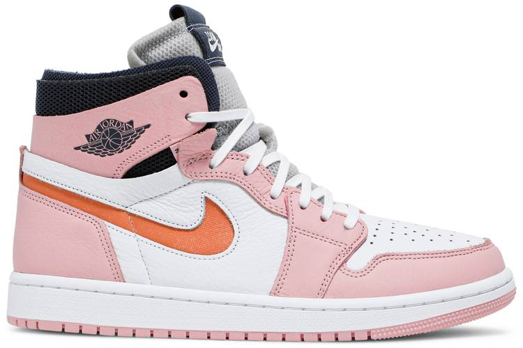 WMNS Air Jordan 1 High Zoom Pink Glaze