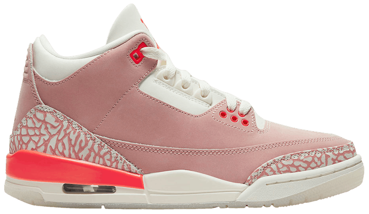 WMNS Air Jordan 3 Retro Rust Pink