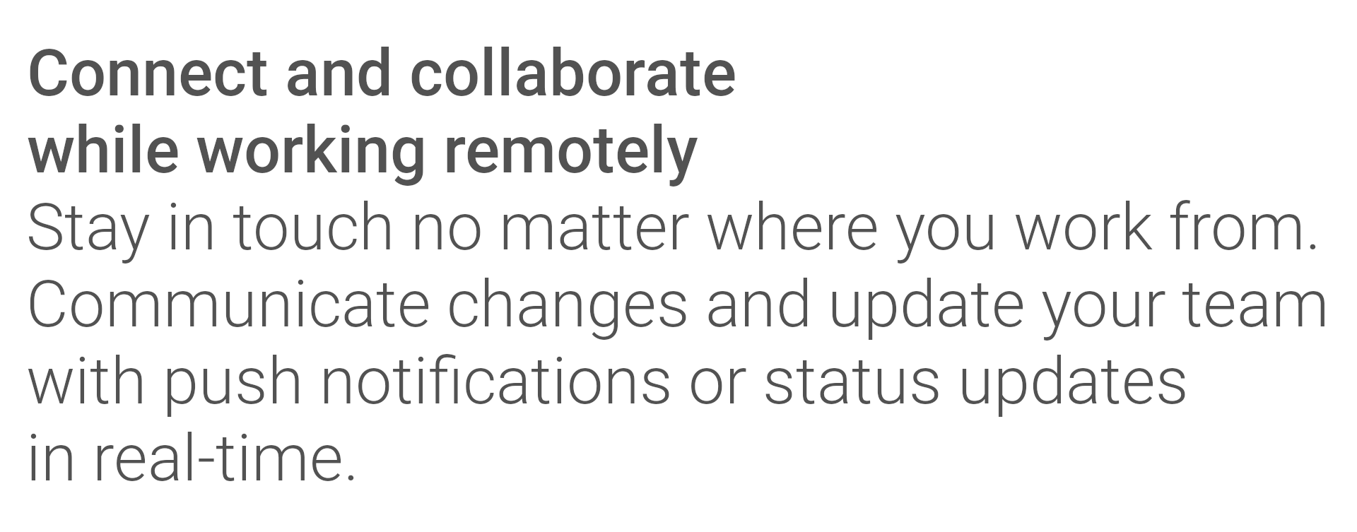 Connect and Collaborate working remotely