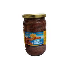 Acciughe filetti in olio di girasole mari del sud gr720