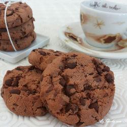 Cookies ai tre cioccolati