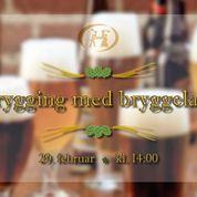 Ølbrygging i samarbeidet med Bryggelauget ved NMBU
