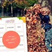 Gratis aktivitetsark med høst-tema