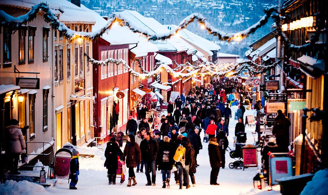 Julebyen Røros