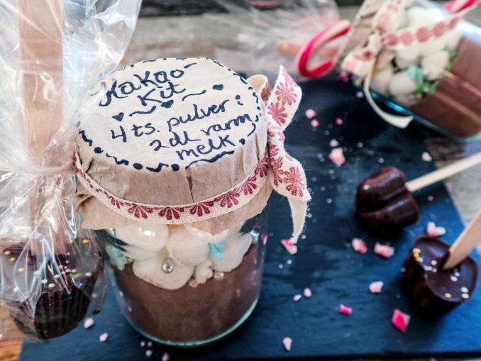 Glass med kakaokit