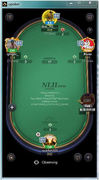 Upoker play money
