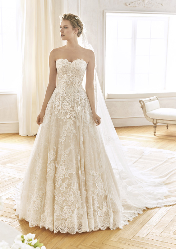 San Patrick - La Sposa - Blanes - menyasszonyi ruha