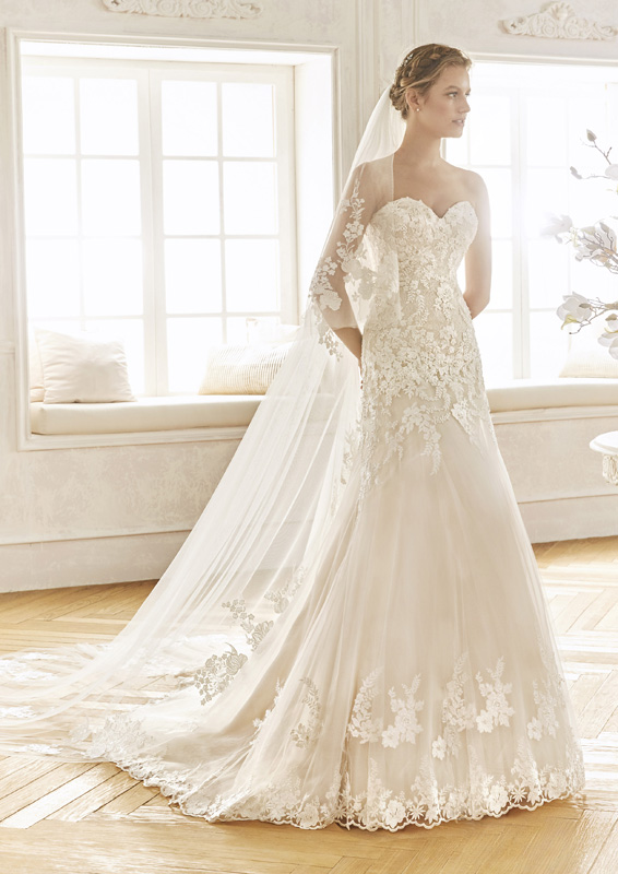 San Patrick - La Sposa - Bayona - menyasszonyi ruha
