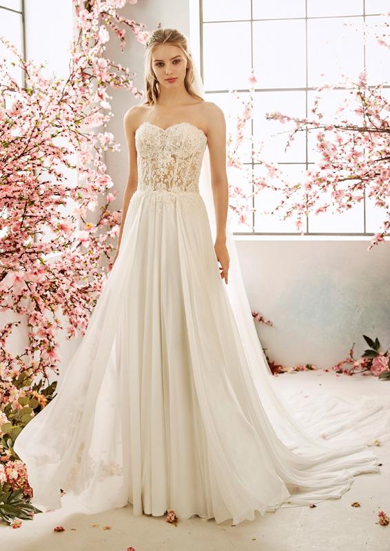 San Patrick - La Sposa - Sage menyasszonyi ruha
