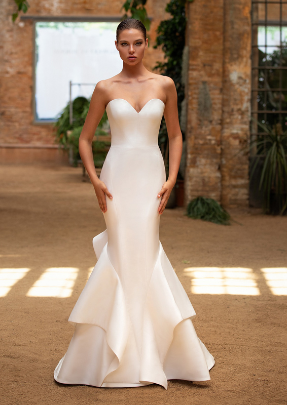 Zac Posen for W1 - Katie menyasszonyi ruha
