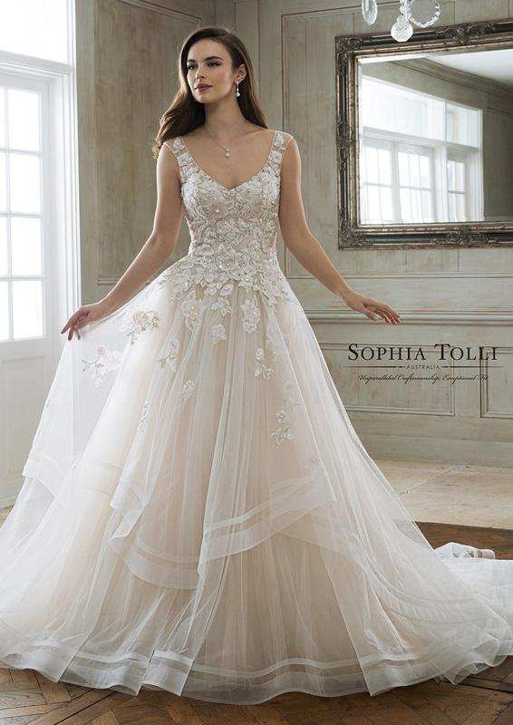 Sophia Tolli - Maia - menyasszonyi ruha