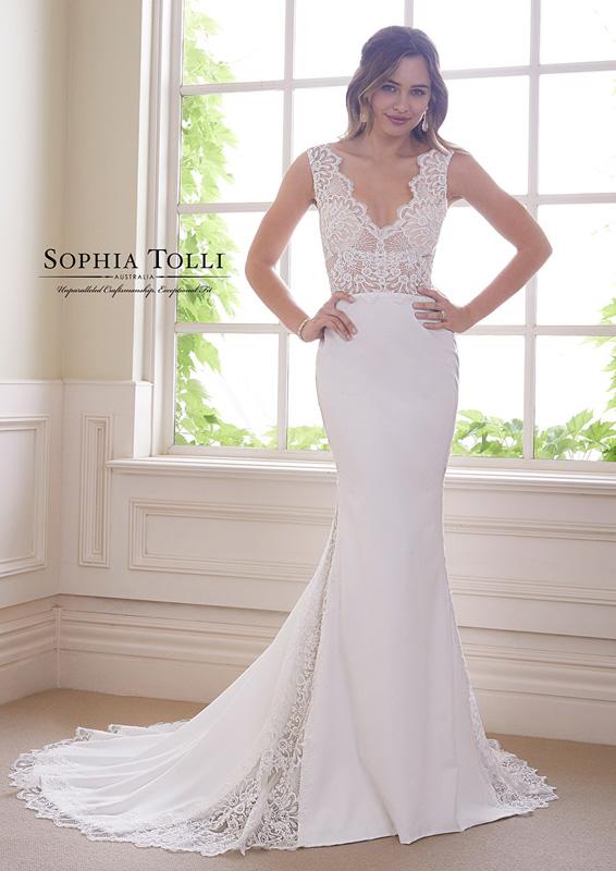 Sophia Tolli - Onyx - menyasszonyi ruha