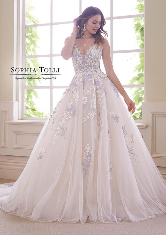 Sophia Tolli - Tanzanite