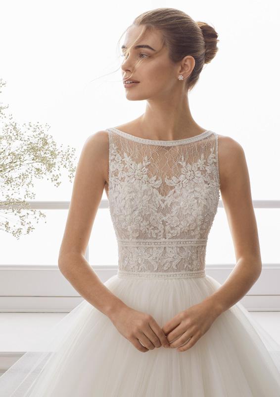 Rosa Clará - Aire Barcelona - Evans - menyasszonyi ruha