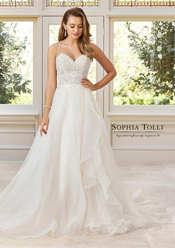Sophia Tolli - Brynn - menyasszonyi ruha