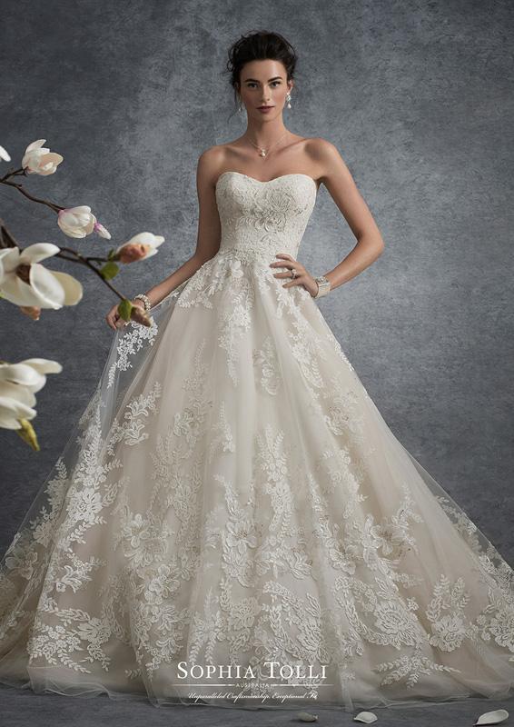 Sophia Tolli - Virgo - menyasszonyi ruha