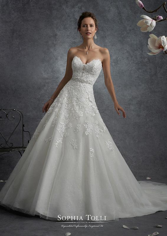 Sophia Tolli - Orion - menyasszonyi ruha
