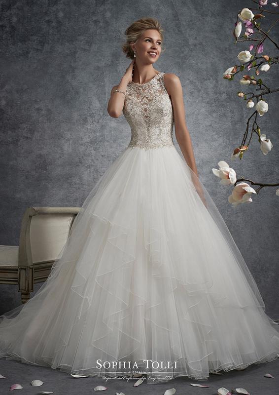 Sophia Tolli - Aquila - menyasszonyi ruha