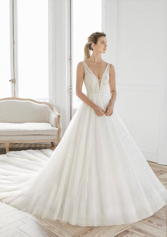 Rosa Clará - Aire Barcelona - Estelar - menyasszonyi ruha