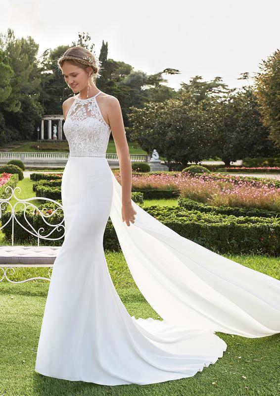 Rosa Clará - Aire Barcelona – Nairobi – menyasszonyi ruha
