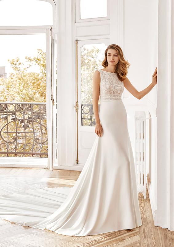 Rosa Clará - Aire Barcelona – Naza – menyasszonyi ruha