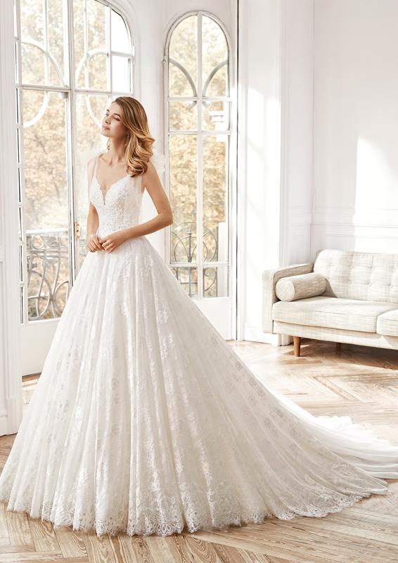 Rosa Clará - Aire Barcelona – Nisha – menyasszonyi ruha