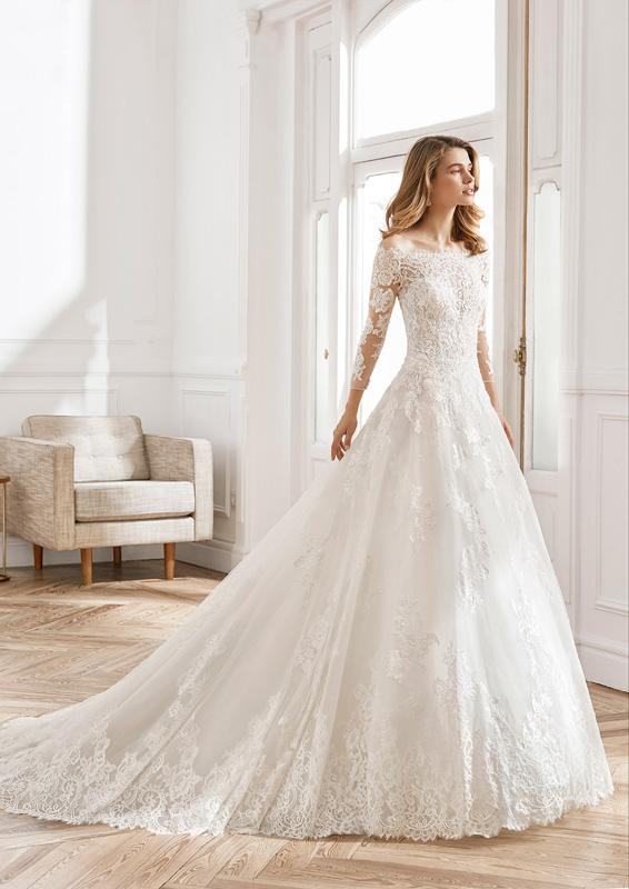 Rosa Clará - Aire Barcelona – Nit – menyasszonyi ruha