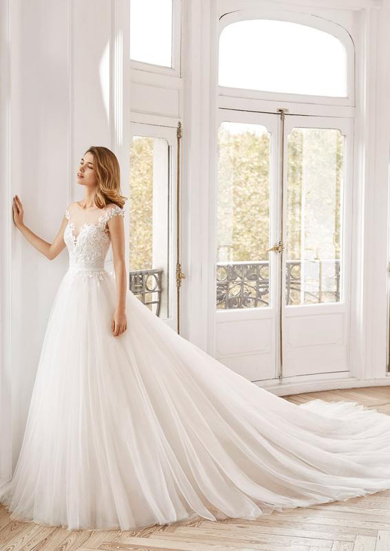 Rosa Clará - Aire Barcelona – Norte – menyasszonyi ruha