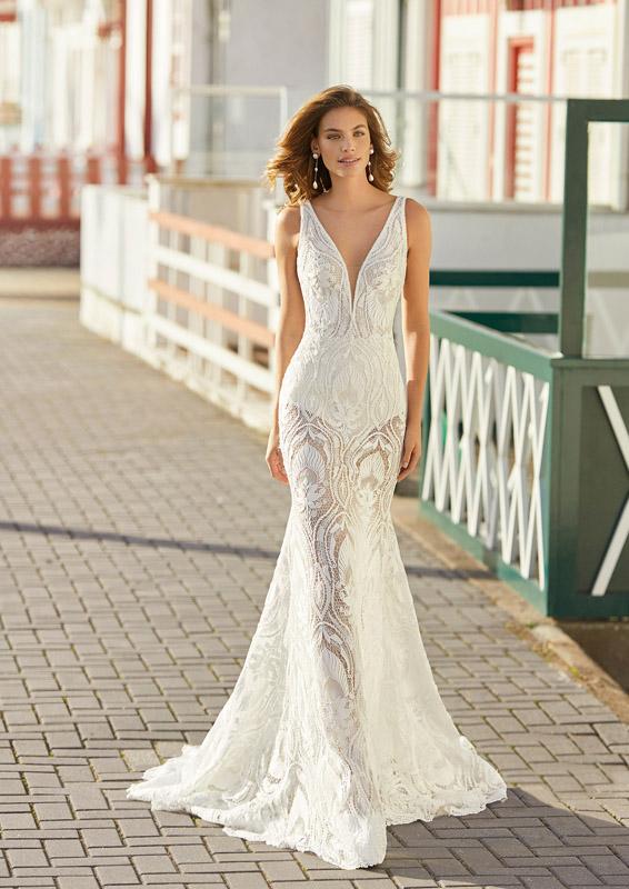 Rosa Clará - Soft – Helder – menyasszonyi ruha