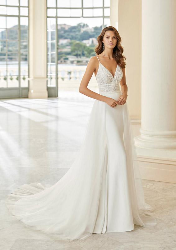 Rosa Clará - Aire Barcelona – Idan – menyasszonyi ruha