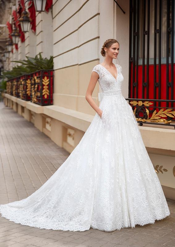 Rosa Clará - Aire Barcelona – Irvin – menyasszonyi ruha