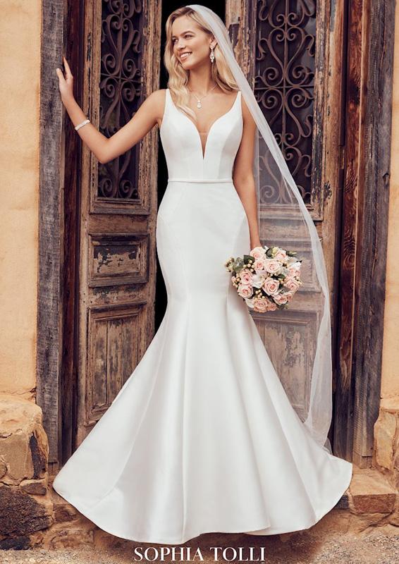 Sophia Tolli – Alexis - menyasszonyi ruha