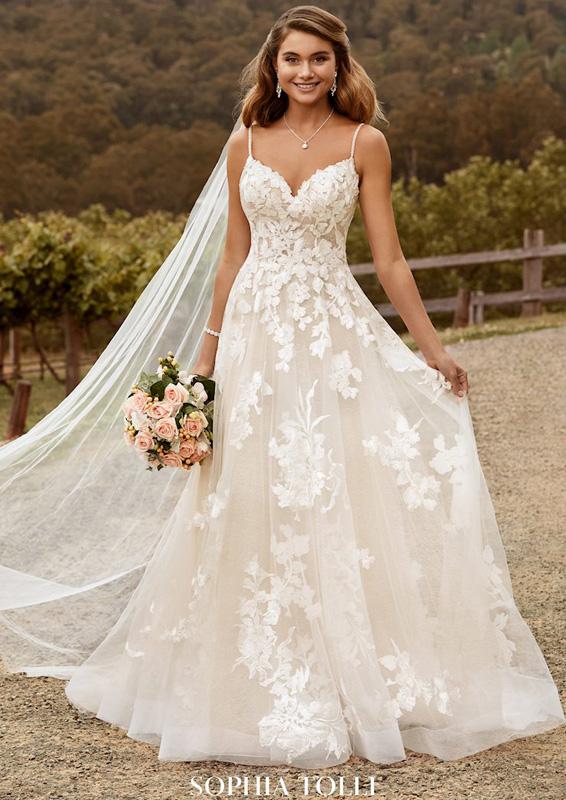 Sophia Tolli – Nikita - menyasszonyi ruha