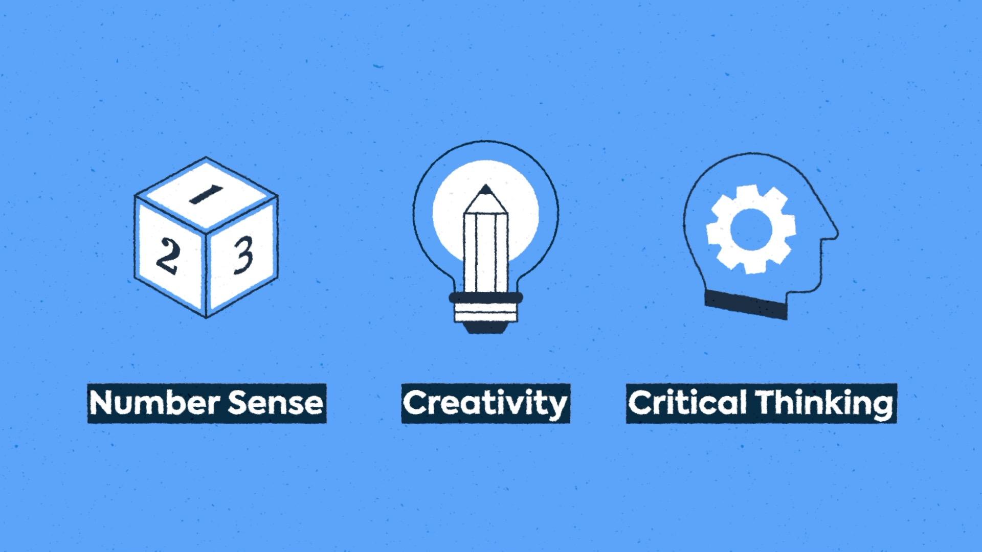 Number Sense, Creativity & Critical Thinking