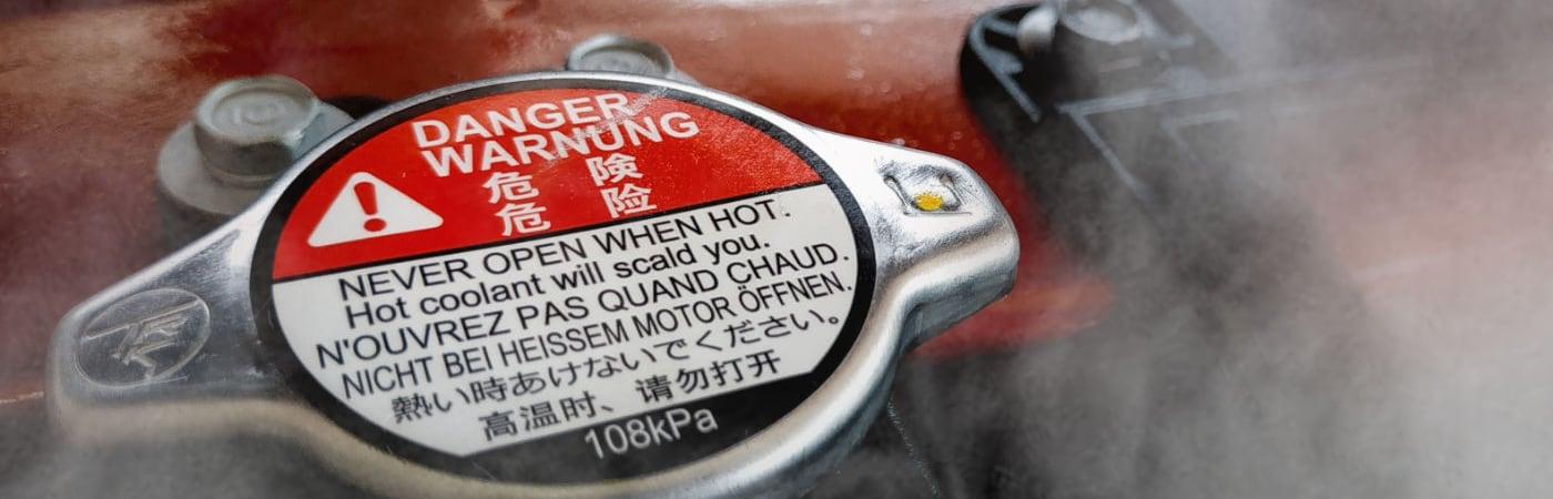 Si se te calienta el motor del carro