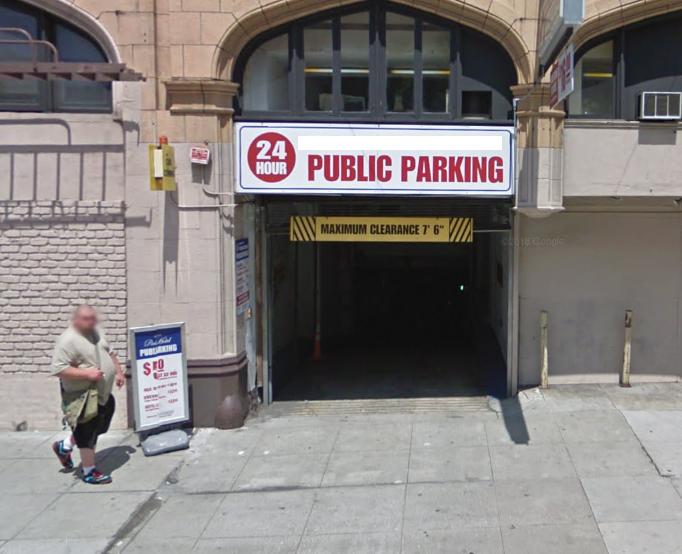 Mission St - Parking Garage